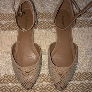 Pointed Toe Dollhouse Flats